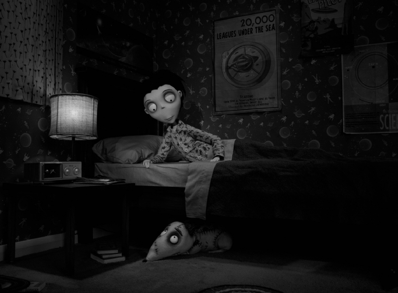 Tim Burton S Frankenweenie New Picture