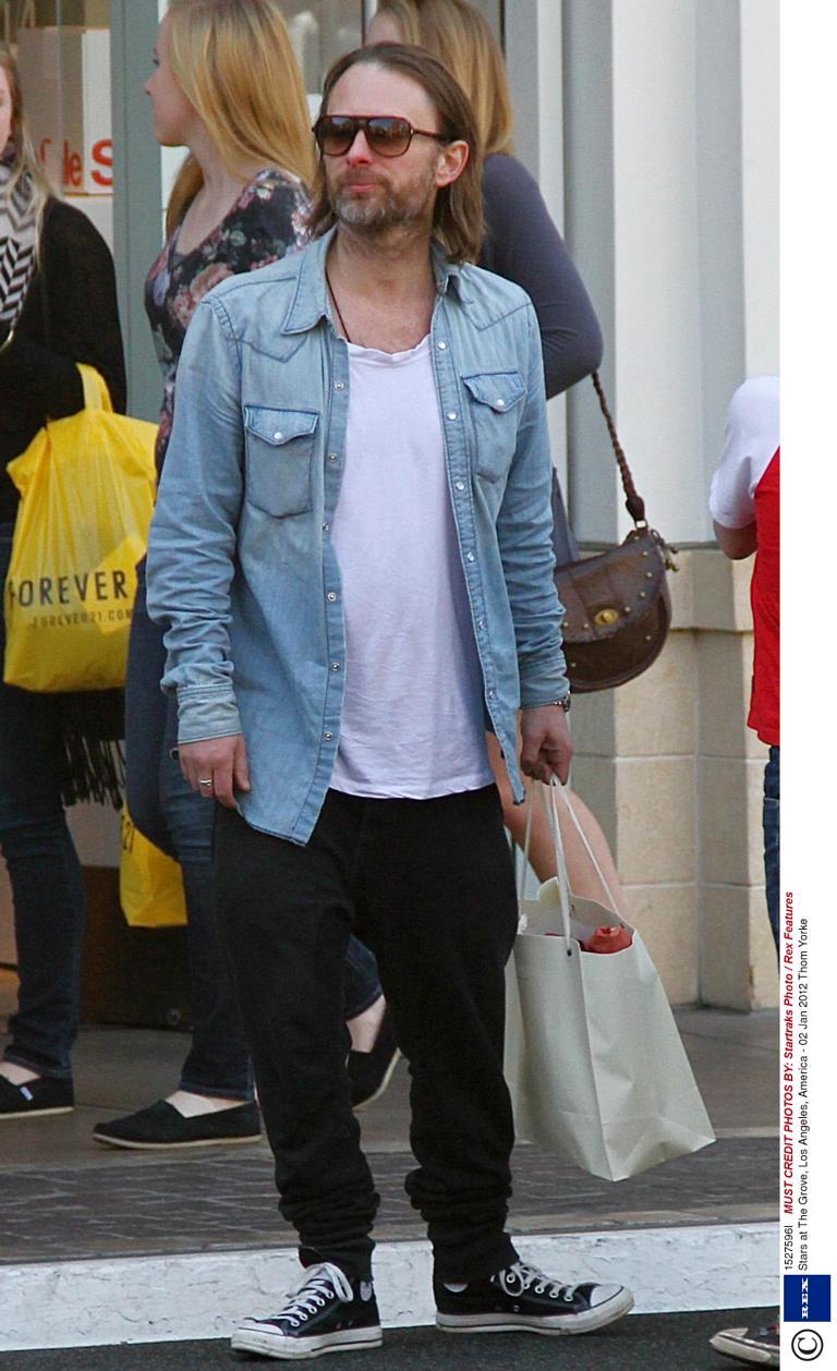 Thom Yorke Style Fashion