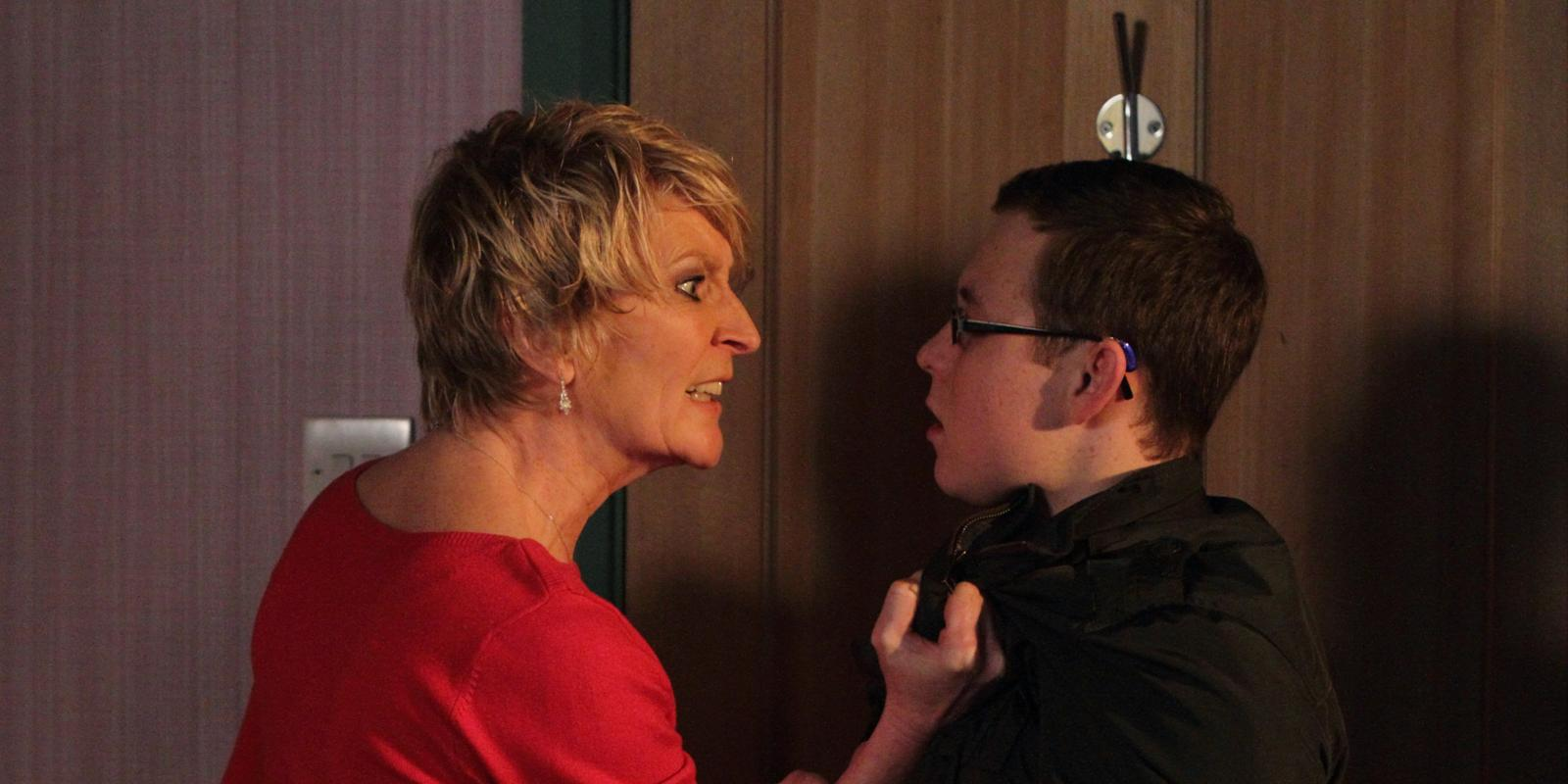 Eastenders Shirley Gets Tough With Ben Spoiler Picture