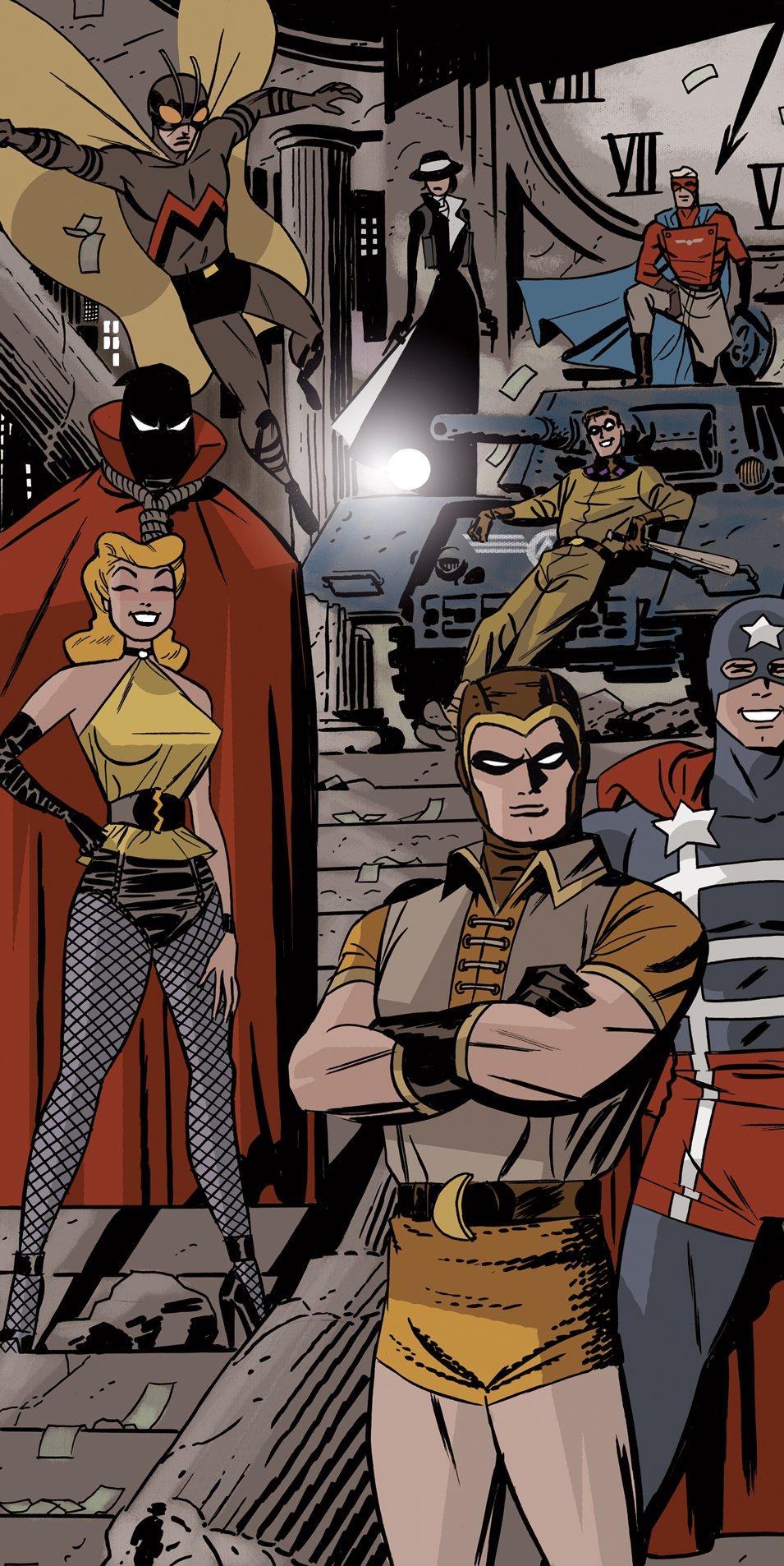 'Before Watchmen's Amanda Conner draws Silk Spectre ...