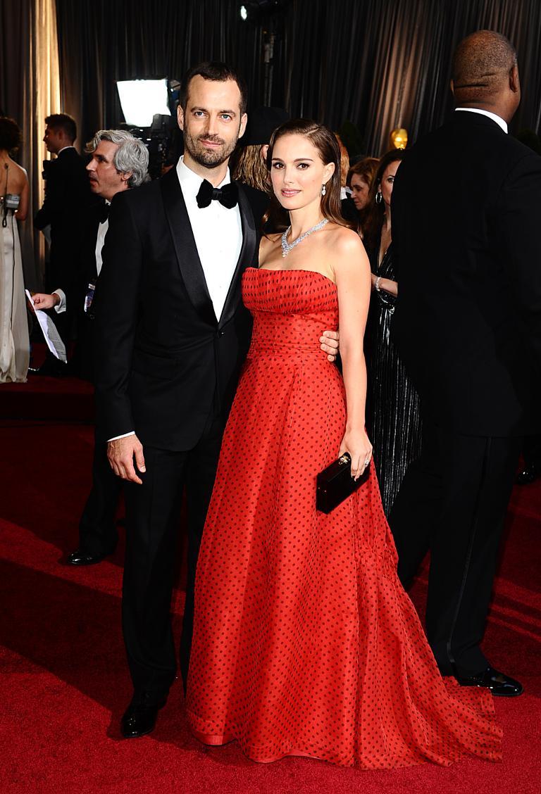 Watch Natalie Portman married Benjamin Millepied wearing a Rodarte wedding dress video