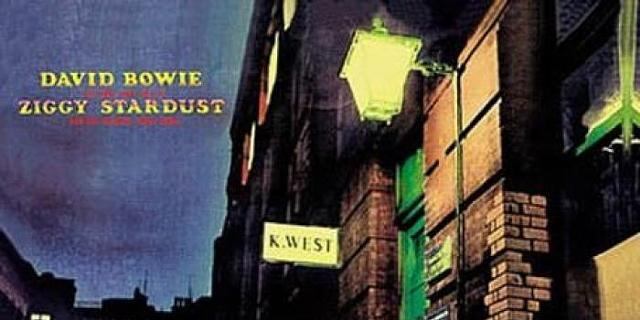 David Bowie Album Covers Ziggy Stardust