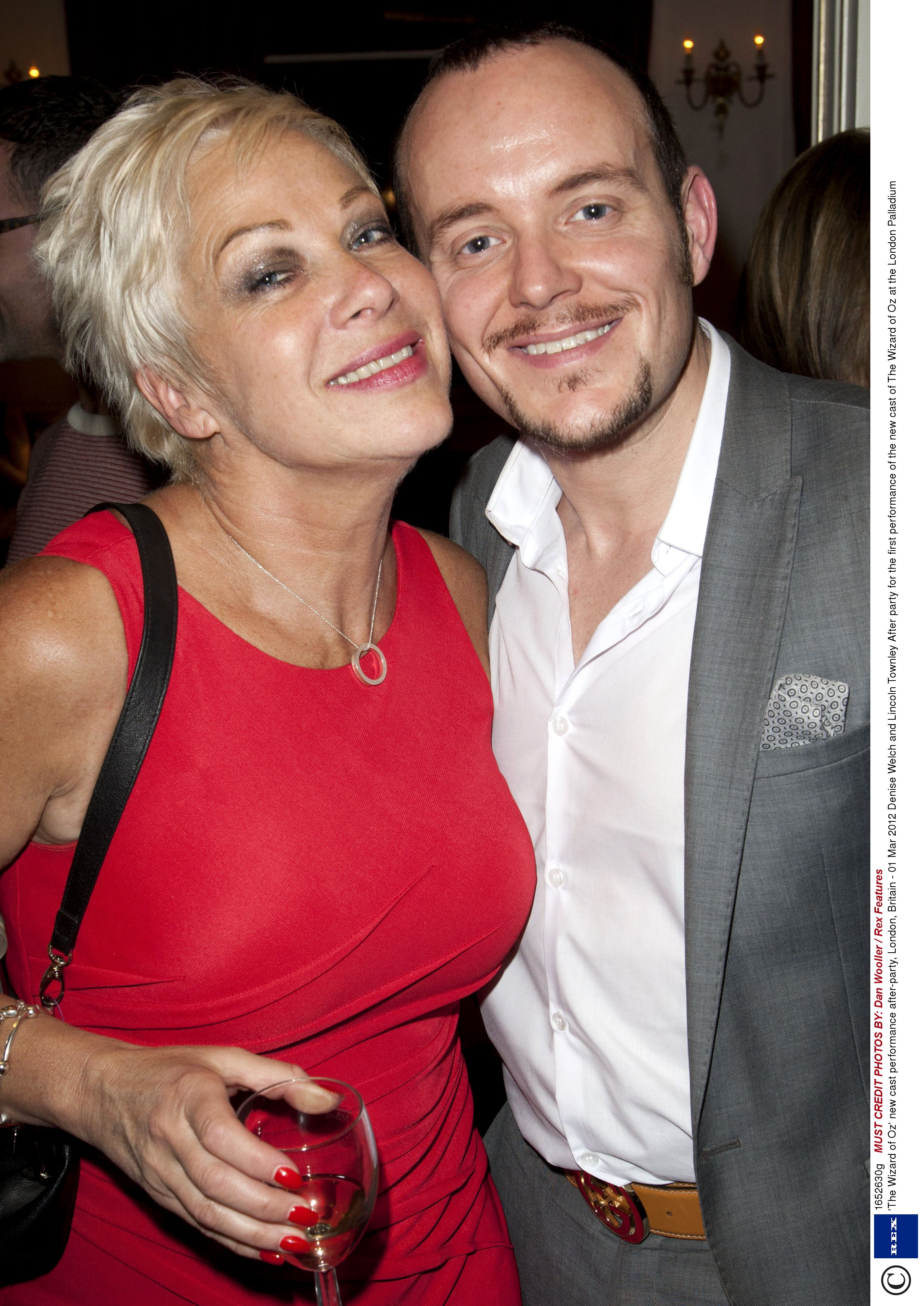 Denise Welch S Ex Husband Tim Healy We Will Always Love Each Other