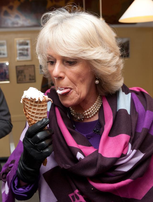 Những khoảnh khắc hài hước không đỡ nổi của bà Camilla - mẹ chồng thị phi nhất Hoàng gia Anh, đã xem là không thể không cười - Ảnh 2.