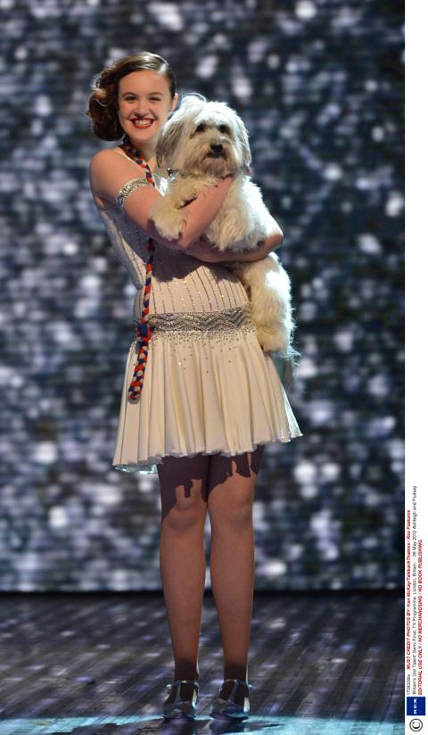britains got talent ashley und pudsey