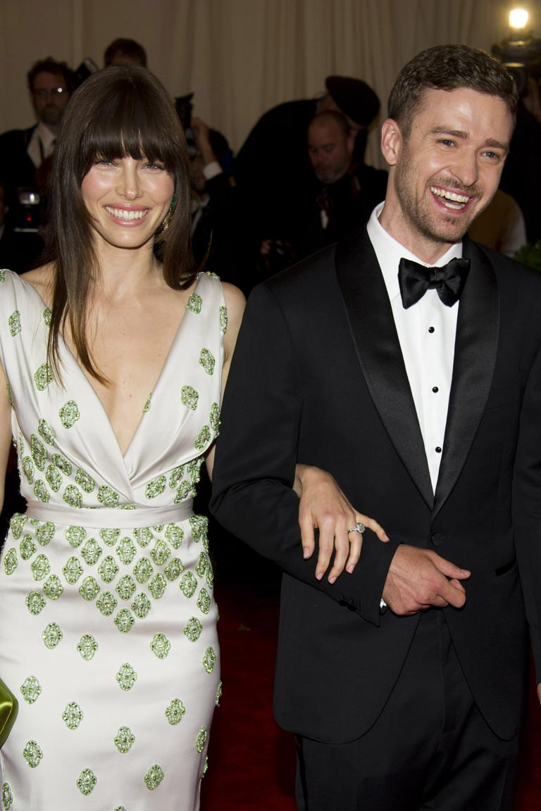 Jessica Biel And Justin Timberlake At The Met Ball 2017
