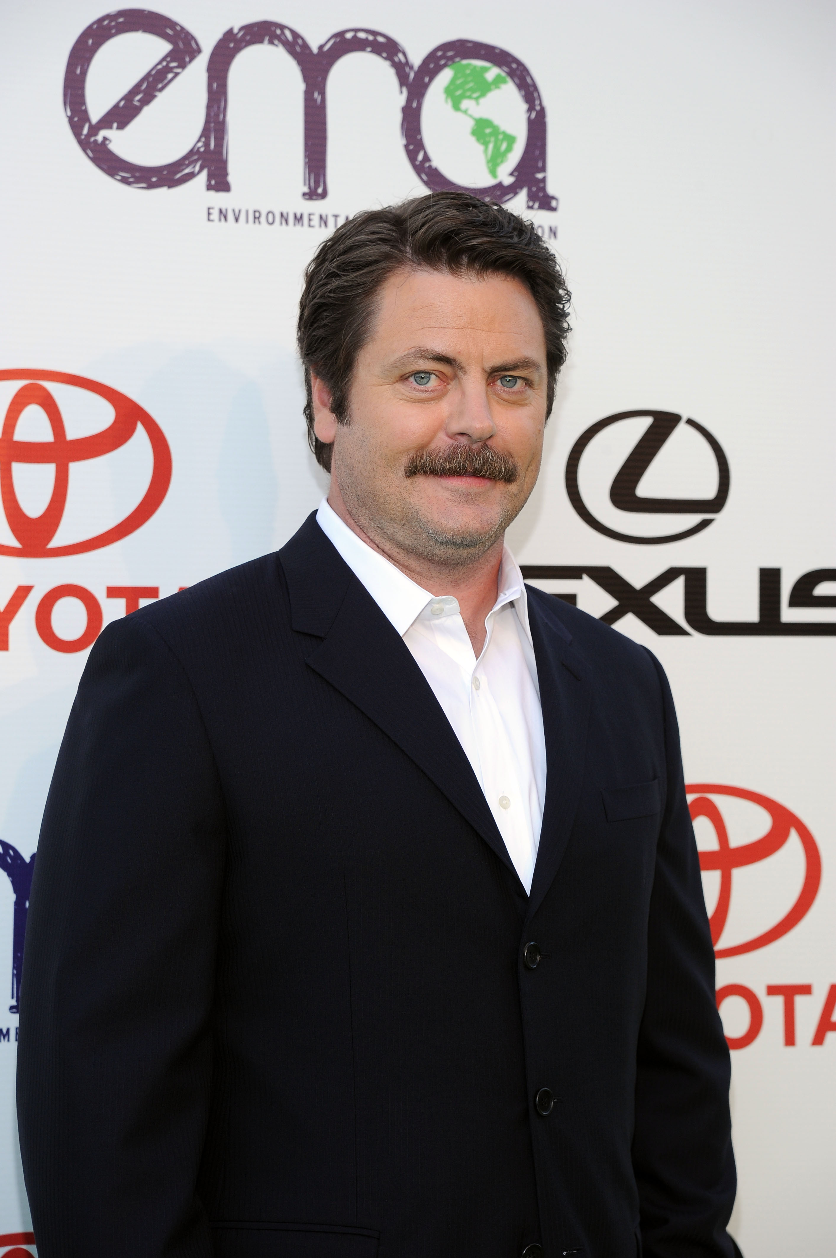 Nick Offerman, Megan Mullally for 'Toy's House'
