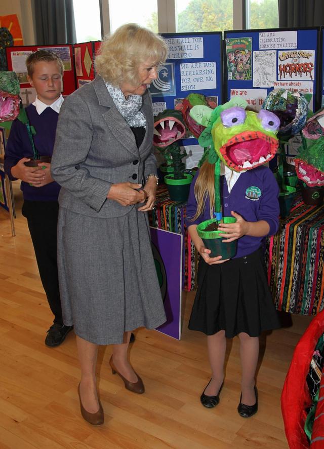Những khoảnh khắc hài hước không đỡ nổi của bà Camilla - mẹ chồng thị phi nhất Hoàng gia Anh, đã xem là không thể không cười - Ảnh 6.