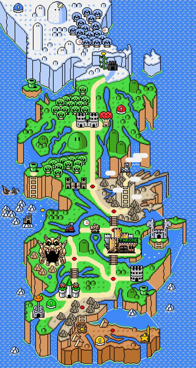 Game of thrones map recreated super mario world style picture game of thrones super mario world gumiabroncs Images