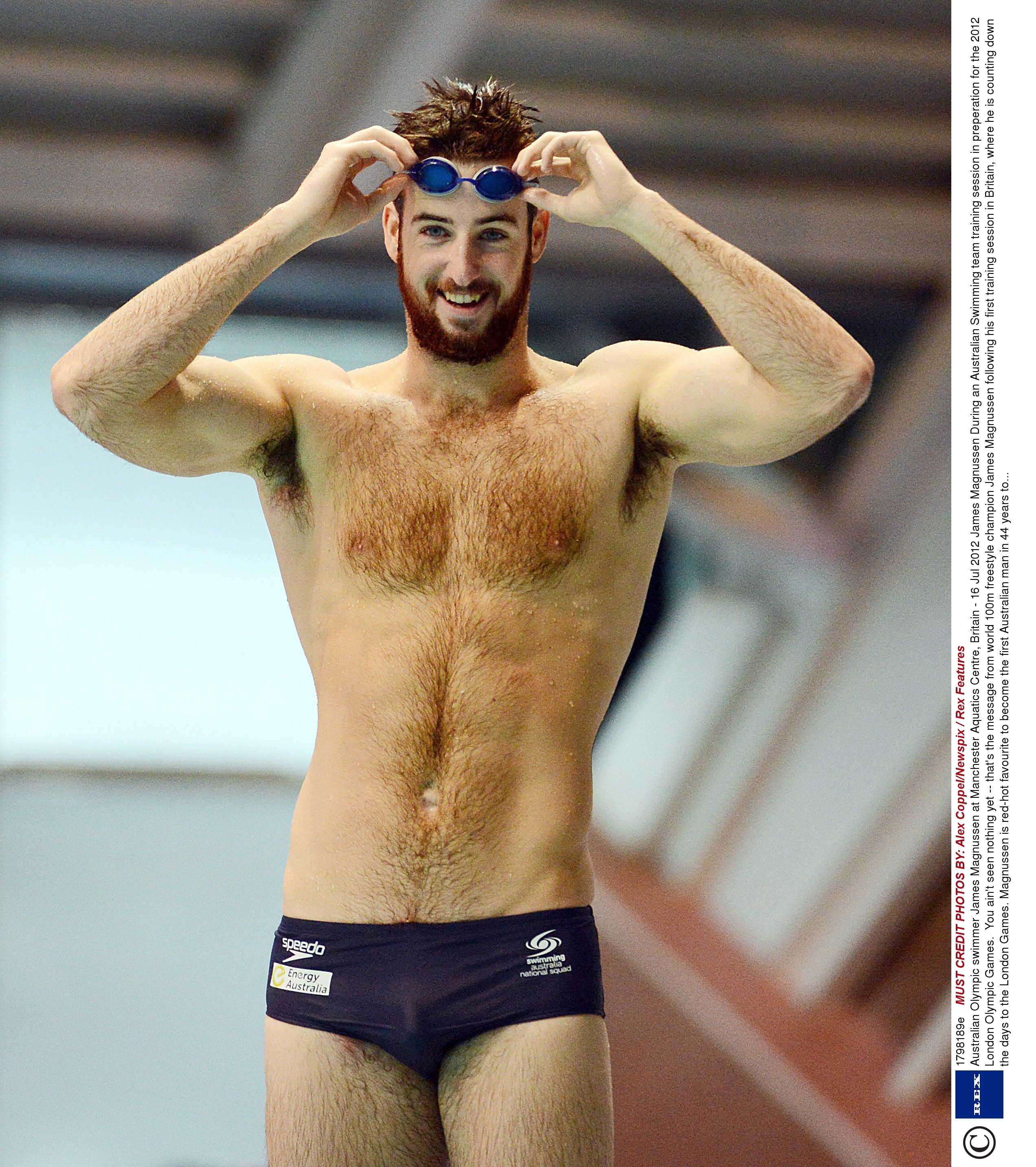 naked gay swimmers