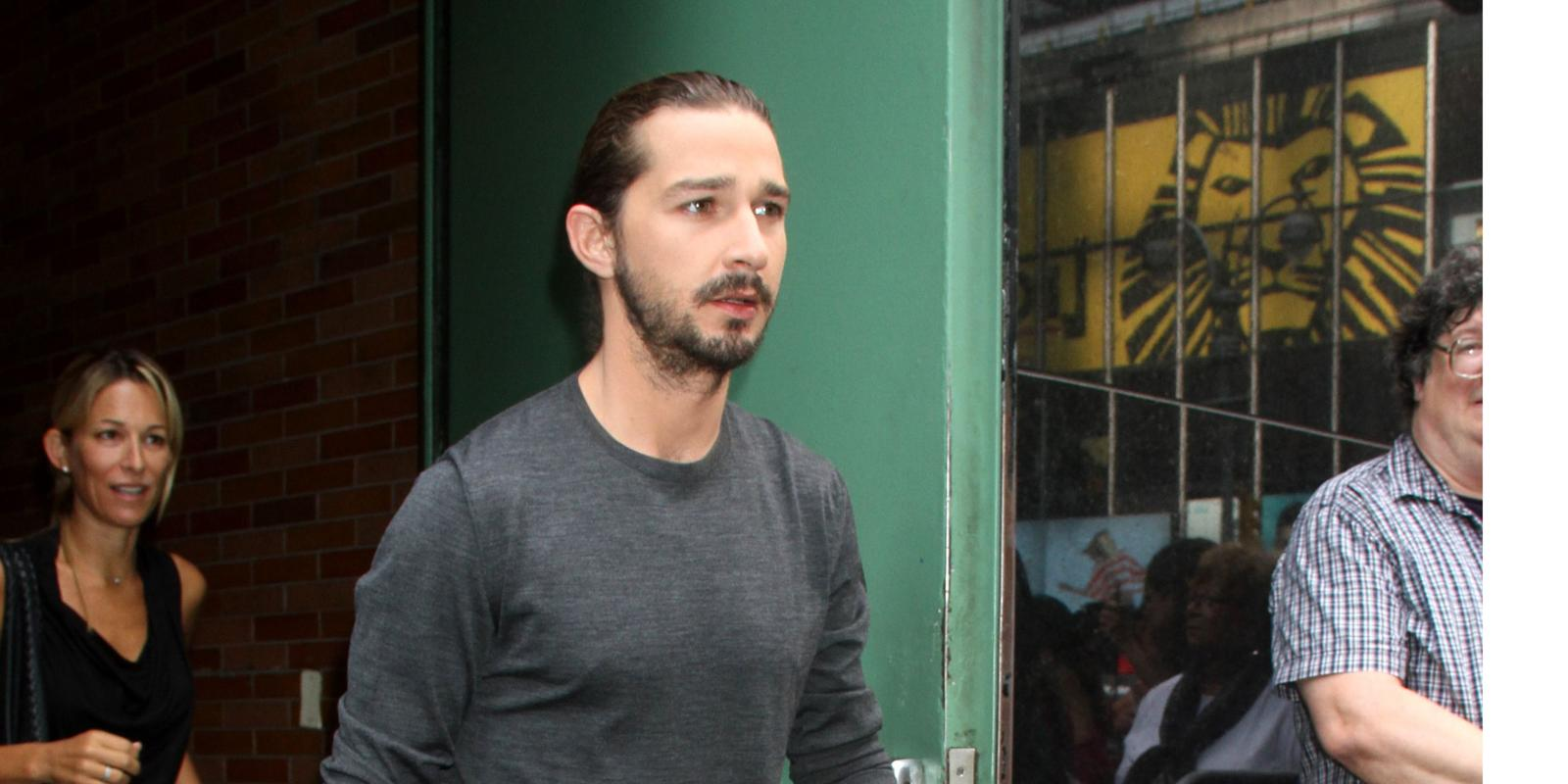 Shia Labeouf Lawless Drinking Was As Undestructive As Possible