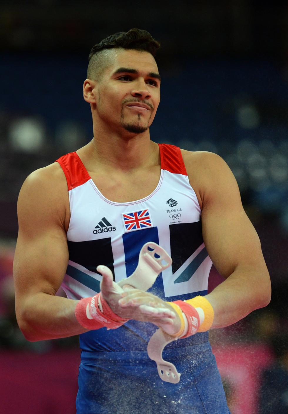 Louis Smith endorsed by Adidas