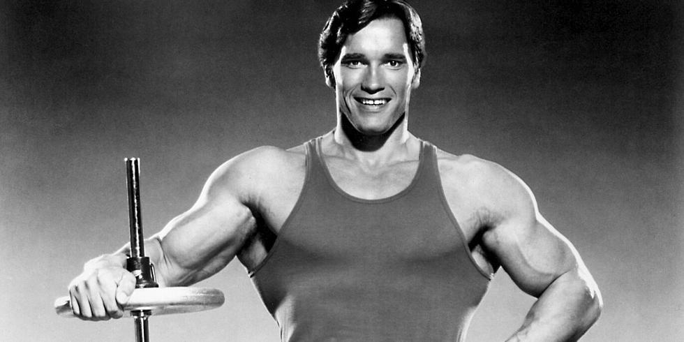 Arnold schwarzenegger bodybuilding got me everywhere arnold schwarzenegger posing for a photoshoot usa circa malvernweather Images