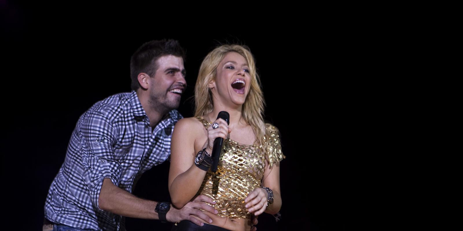 Shakira : elle raconte son coup de foudre (alcolis) pour Grard Photo de shakira et son mari