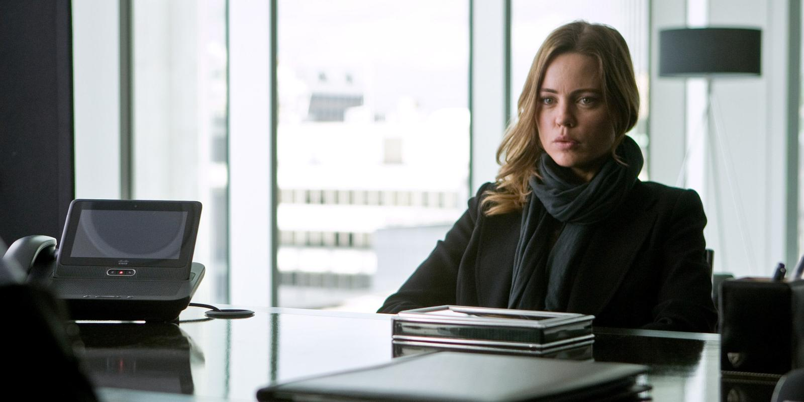 melissa george 'hunted' q&a: 'i developed muscles in strange places'