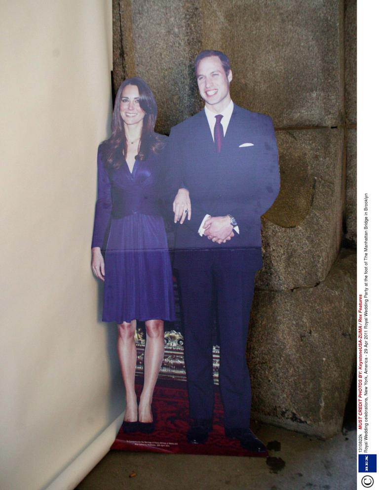 Middleton life-size cut-out left in hotel