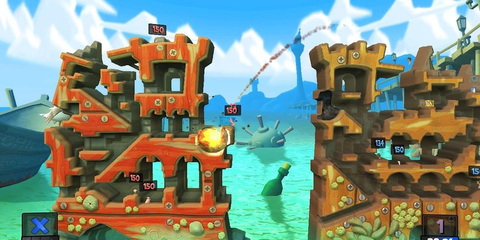 Worms revolution review xbox live arcade a whole new can of worms worms revolution review xbox live arcade a whole new can of worms gumiabroncs Images