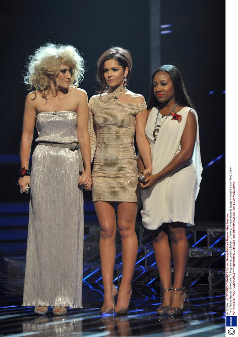 Cheryl Cole Katie Waissel Treyc Cohen X Factor 2010