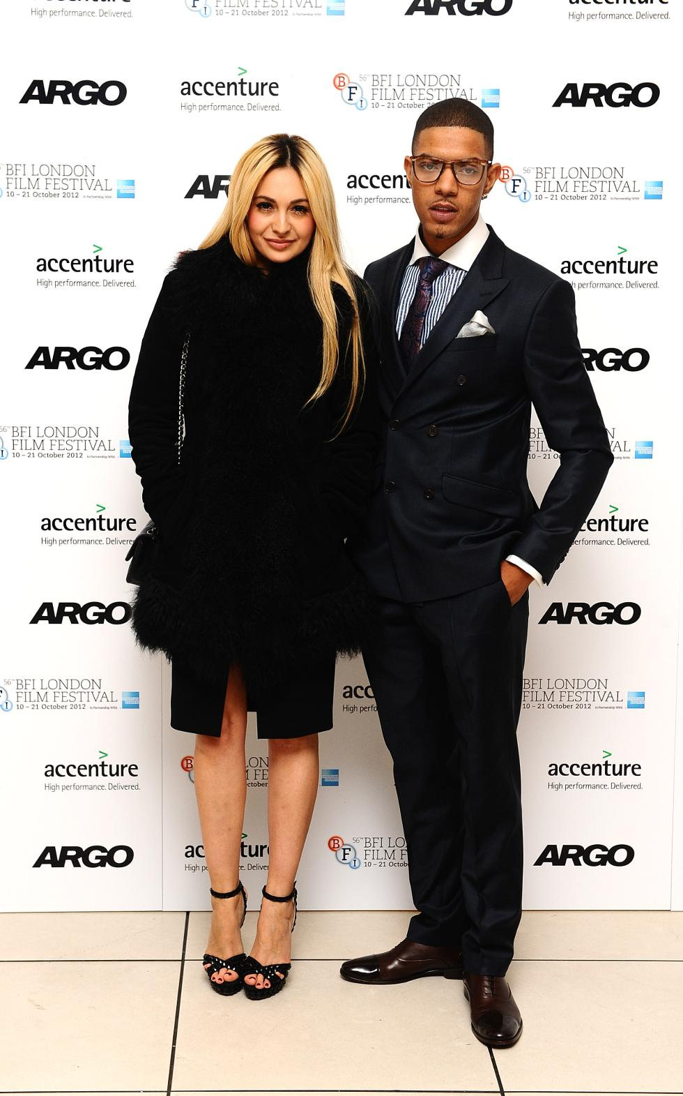 Former boyfriend and girlfriend: Richard Rawson aka Fazer and Zara Martin