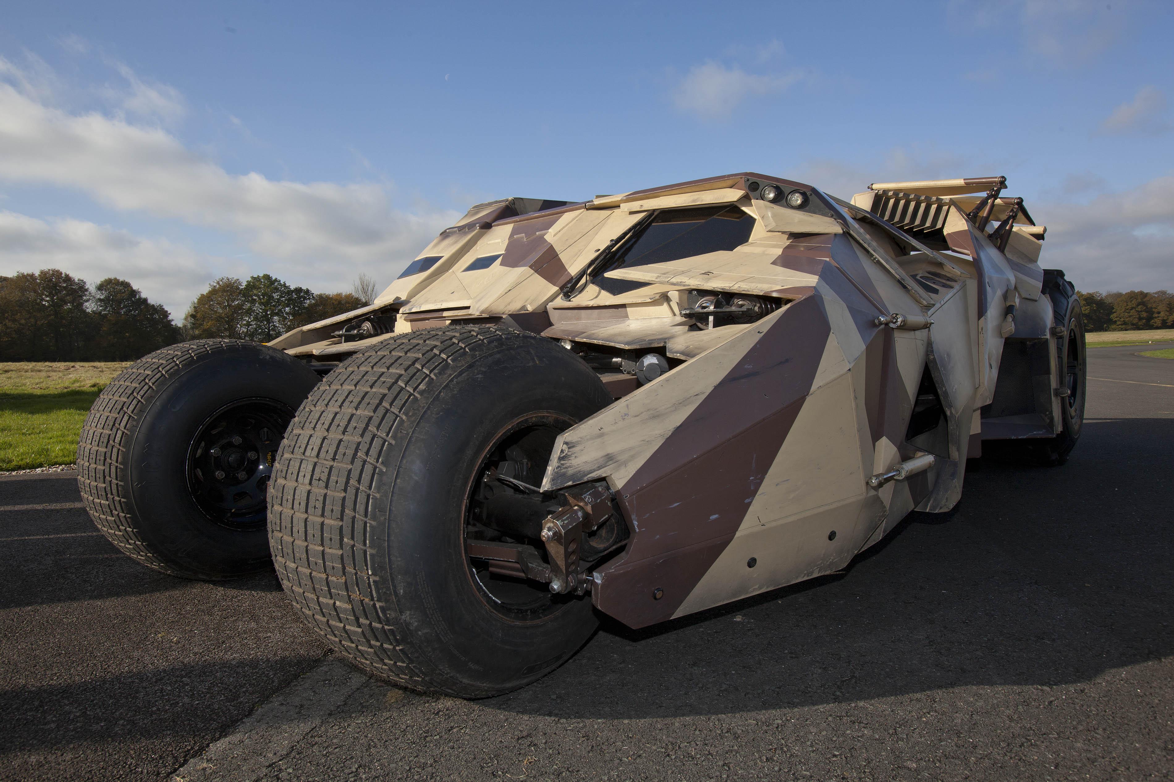 The Dark Knight Rises: the Batmobile 'Tumbler' secrets ...