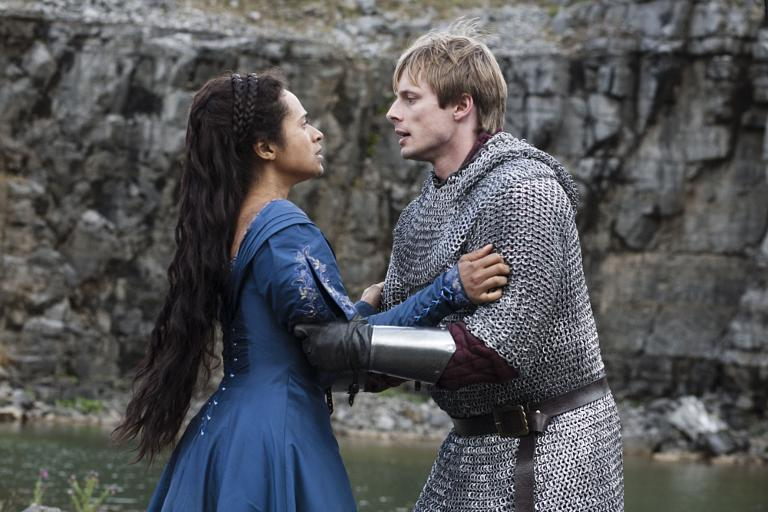 Top Merlin Co-stars Angel Coulby and Bradley James' Dating Life  TG77