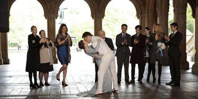 Girl blair chuck wedding and gossip