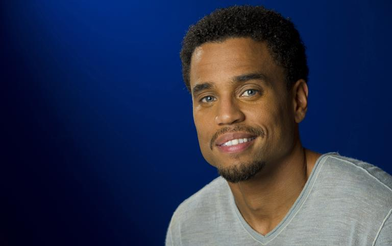 American actor Michael Ealy,44, whose estimated net worth is $3 M