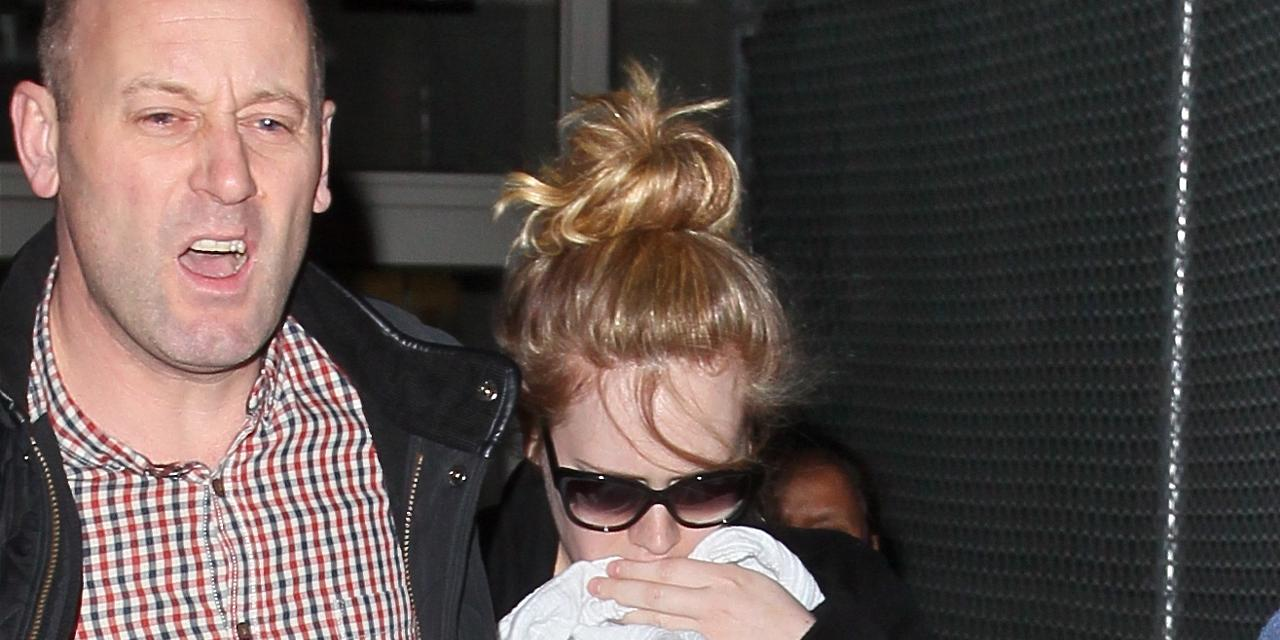 Adele Photographed With Baby For First Time
