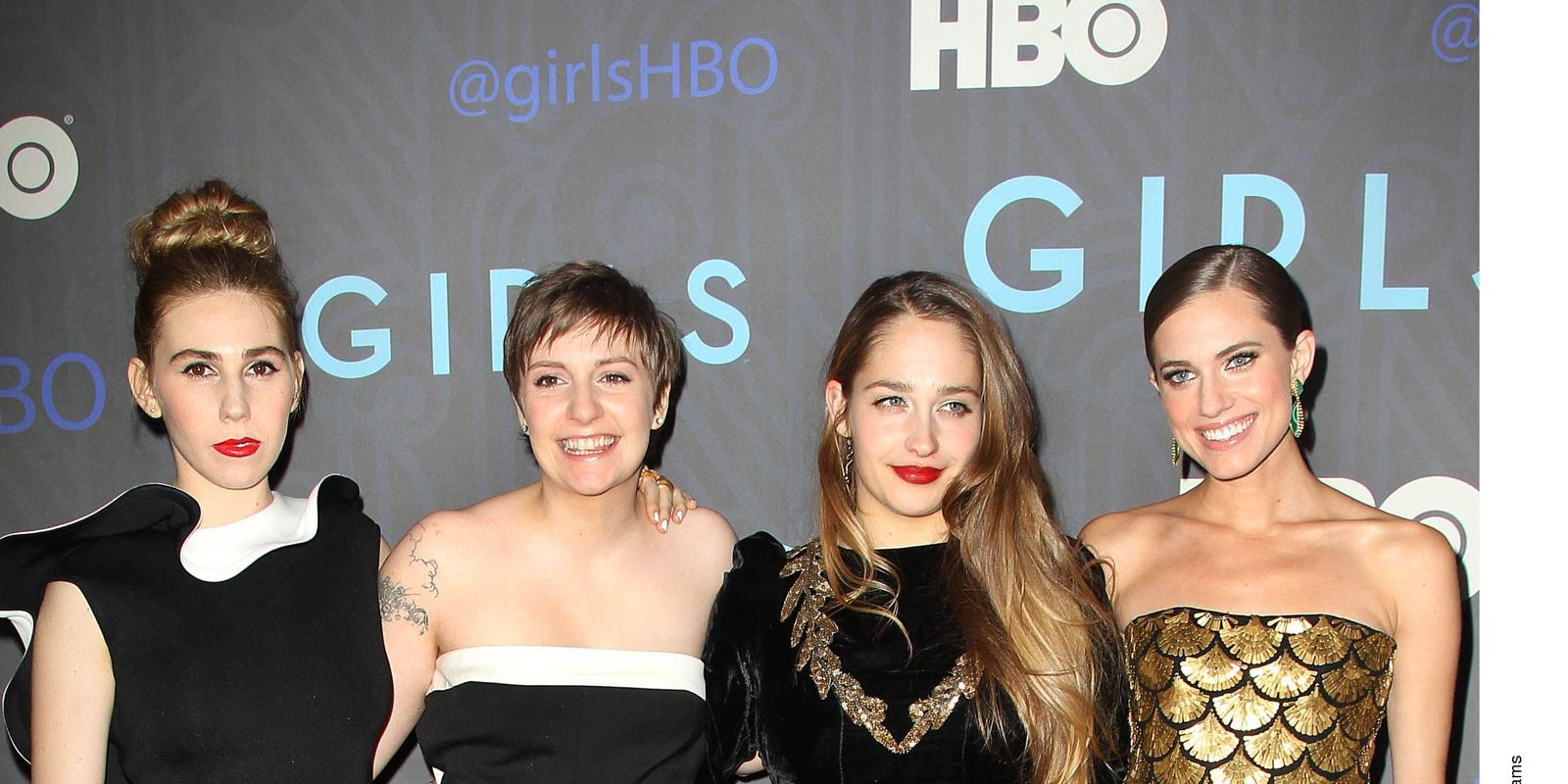Interesting girls hbo show cast