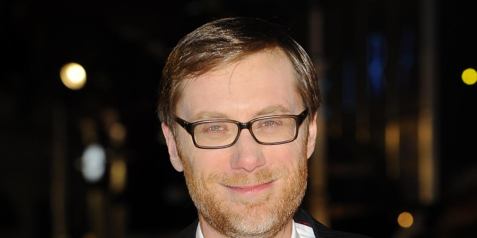 stephen merchant and wife