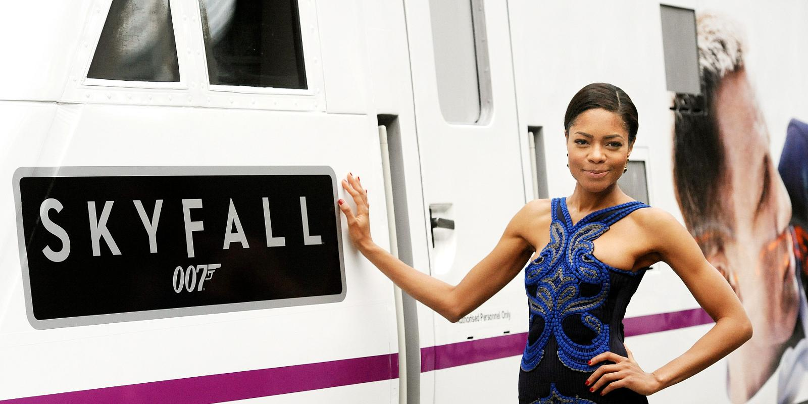 Skyfall\' train unveiled to mark Bond film\'s DVD release