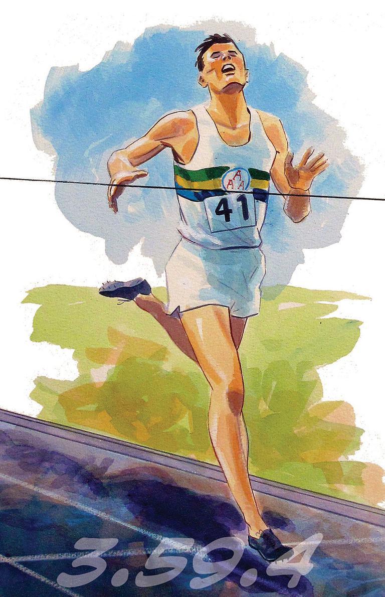 Roger Bannister 1954