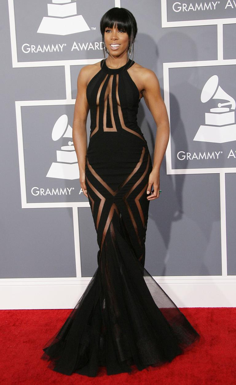 Kelly Rowland Gowns