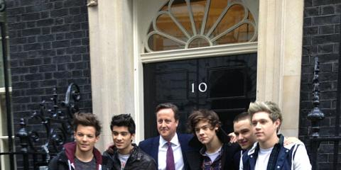 david cameron one direction - photo #18