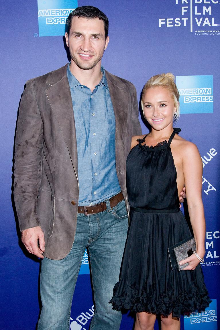 Wladimir Klitschko meets the family of Hayden Panettiere 04/06/2010 4
