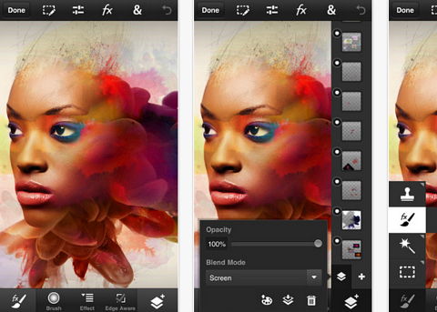adobe photoshop app comes to iphone ipod and android smartphones