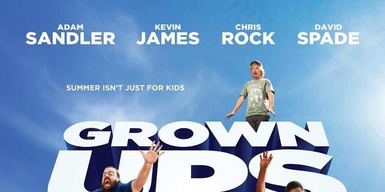 'Grown Ups 2' trailer - Adam Sandler, Salma Hayek star in ... Adam Sandler Tour
