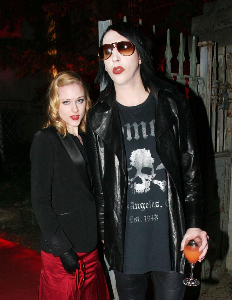 Marilyn manson my career almost ended because of the columbine evan rachel wood marilyn manson m4hsunfo