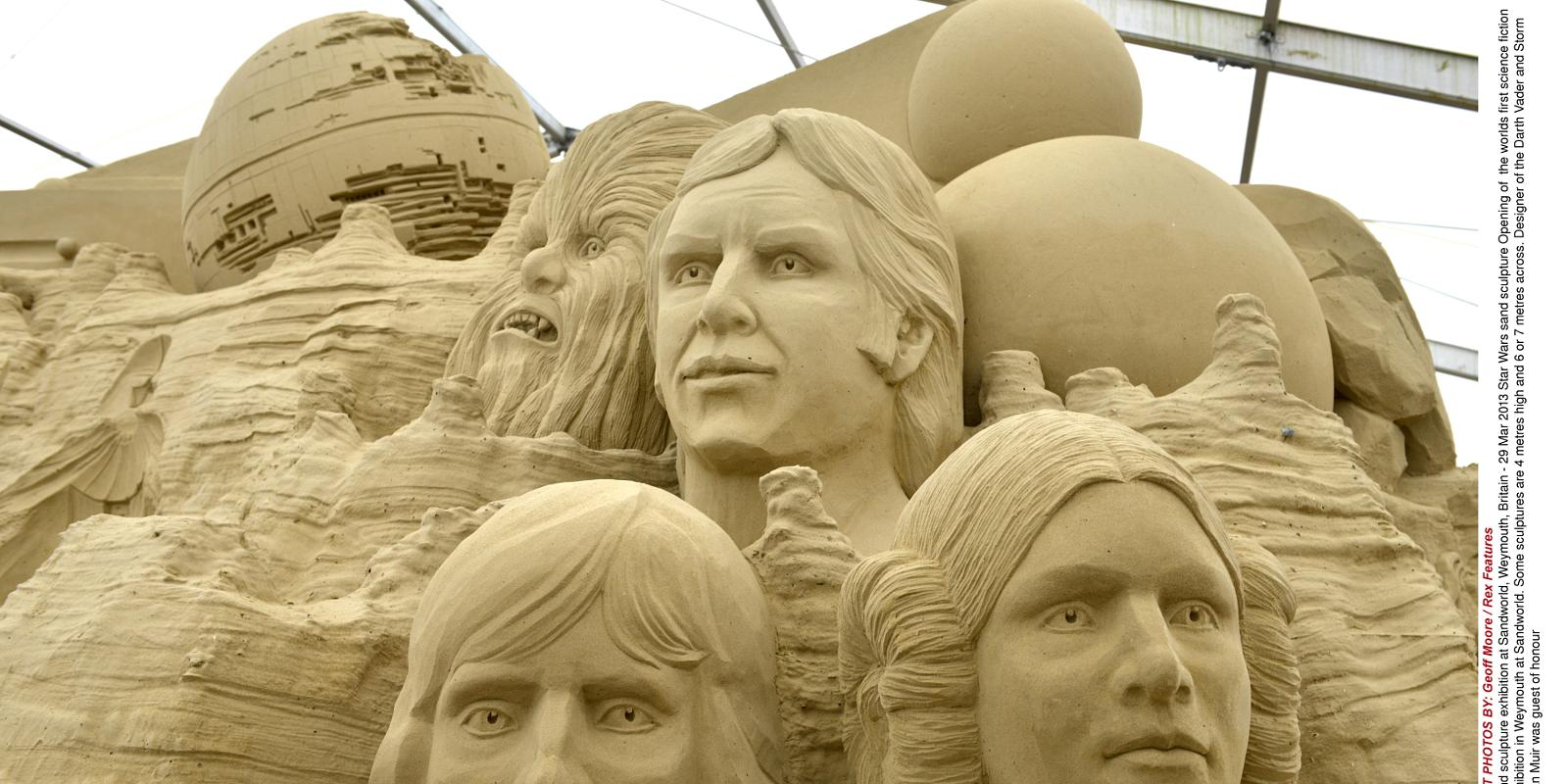 star wars sand sculptures in weymouth gallery