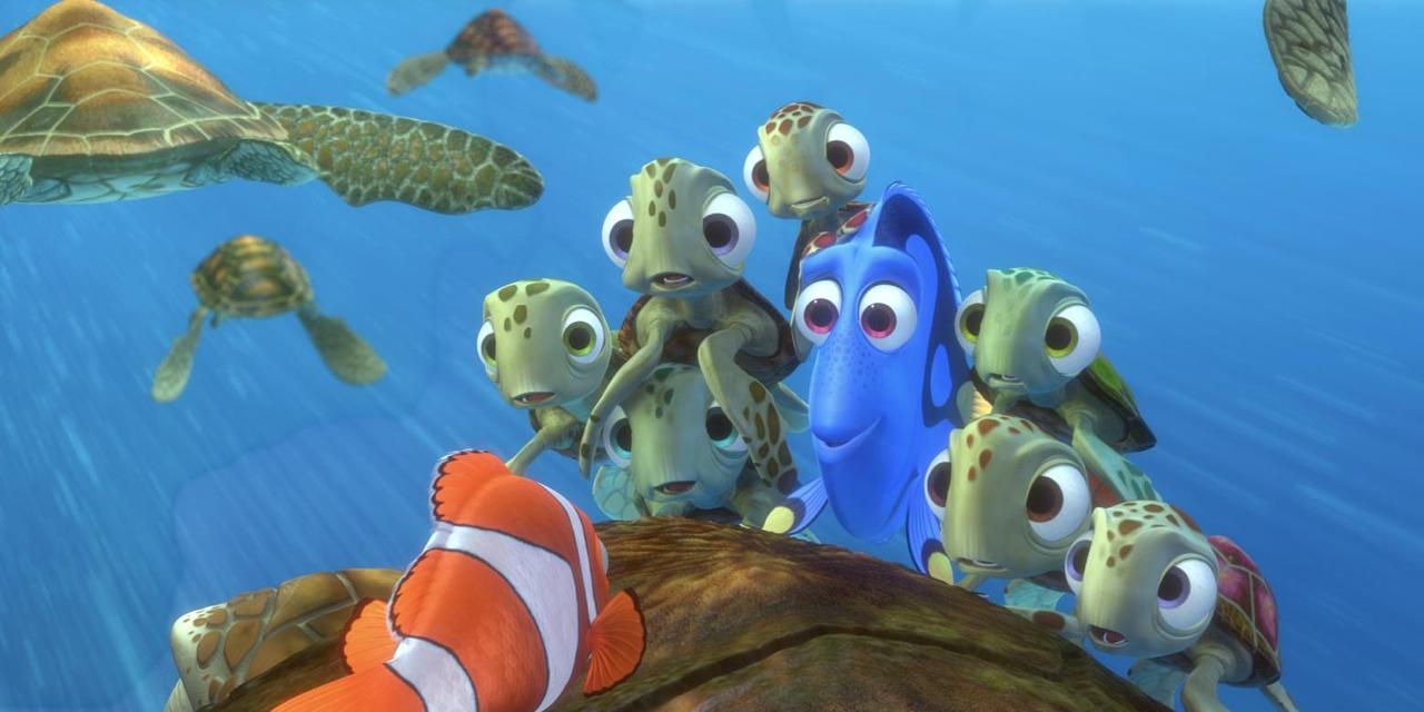 Finding dory plot details and setting revealed by pixar chief for Dory fish movie
