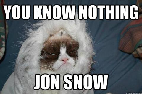 gallery_odd_you_know_nothing_jon_snow you know nothing, jon snow' meme from 'game of thrones' goes viral