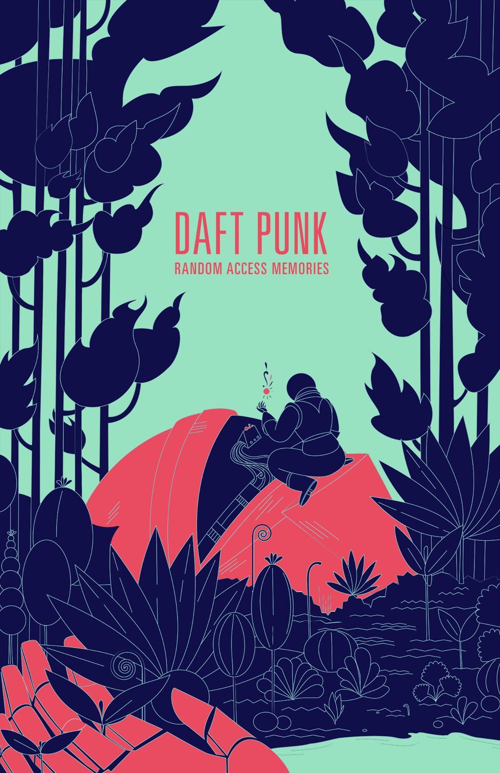 Poster design contest - 99designs Unofficial Daft Punk Community Poster Design Contest Kimsalt S Entry
