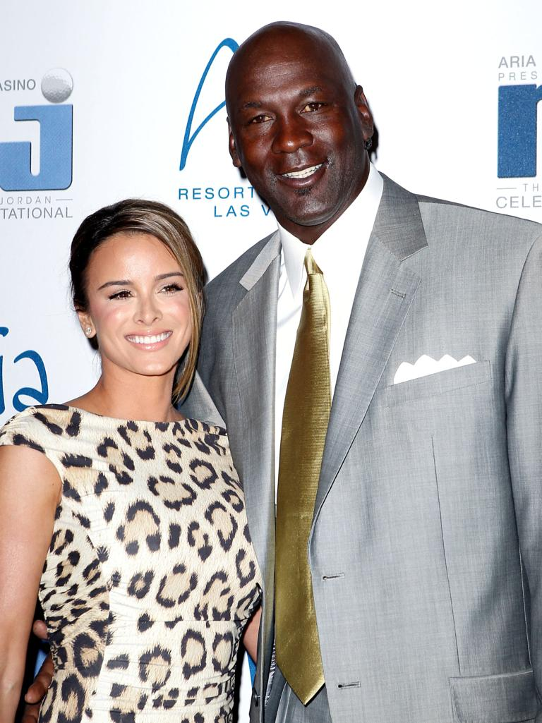 Michael Jordan Second Wife Twins