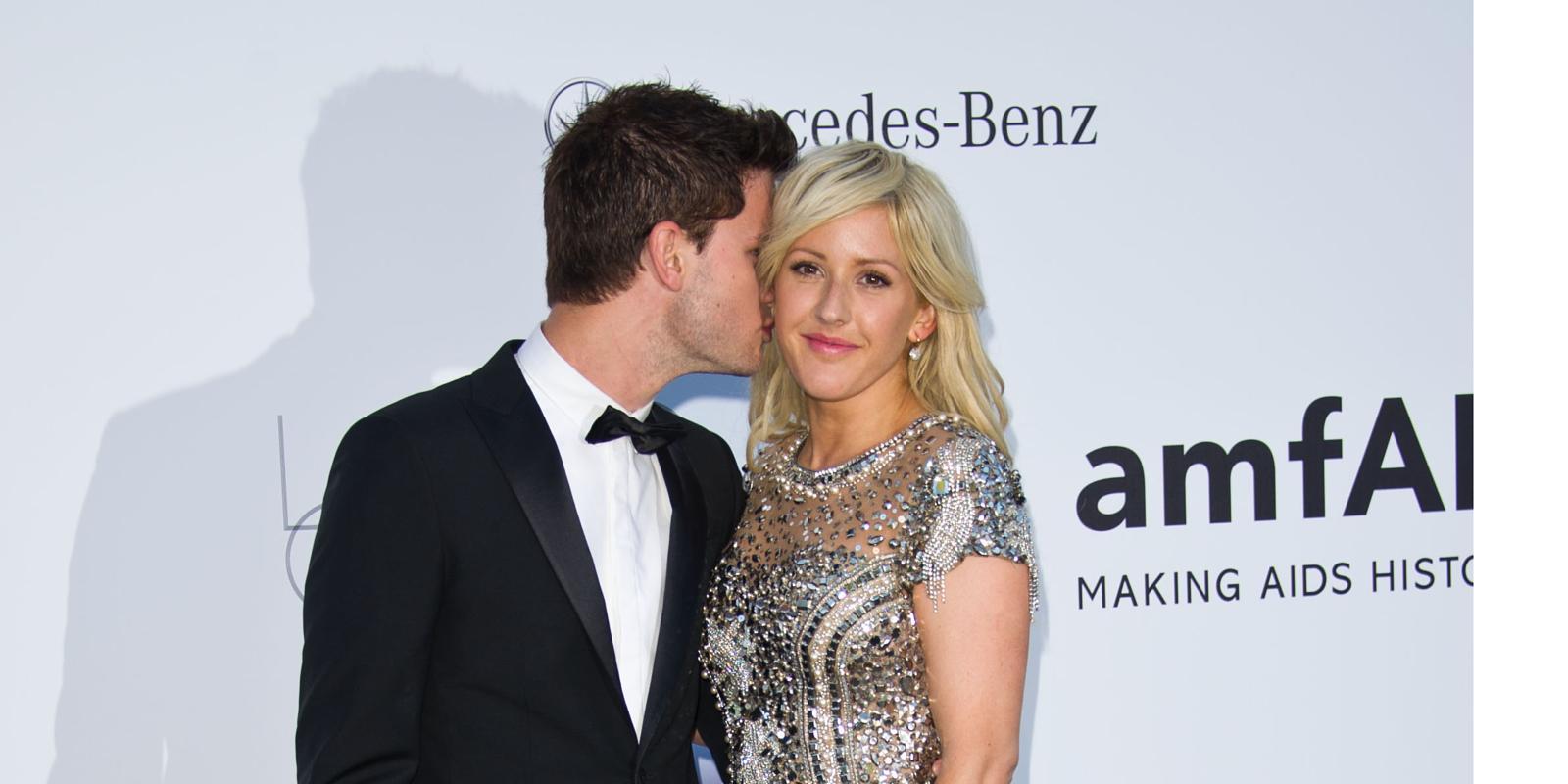 Ellie Goulding & Jeremy Irvine: Chime for Change After ...  Ellie Goulding Jeremy Irvine