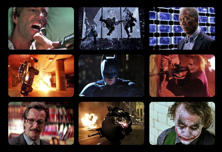 9 Film Frames: \'Dark Knight\', \'Inception\', \'Eternal Sunshine\', more