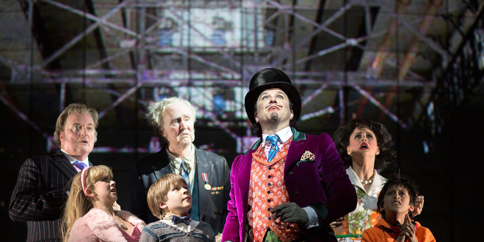 charlie and the chocolate factory behind the magic of the west  charlie and the chocolate factory behind the magic of the west end musical