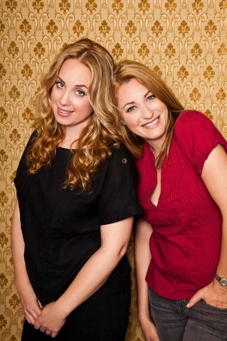 Jessica Chaffin and Jamie Denbo as Ronna and Beverly