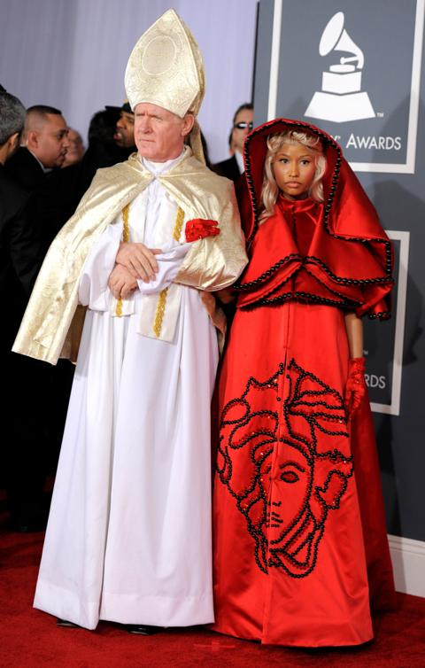 Celebrities in controversial religious outfits