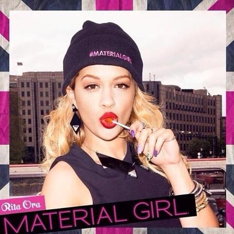Αποτέλεσμα εικόνας για rita ora 'Material Girl'