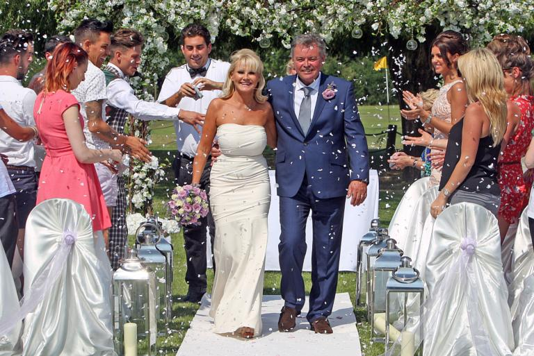Carol And Mark Wright 39 S Wedding Vow Renewal